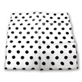 "12"" Spotted Silk (White with Black Dots)"