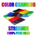 Color Changing Streamer 100% Silk by Vincenzo DiFatta - Tricks