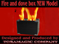 Tora Magic Fire and Dove Box (New Model)