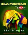 "Silk Fountain with Snap Silks Opener (18"" Silks)"