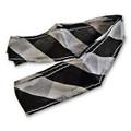 Black & White Zebra Thumb Tip Streamer
