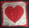 18 Inch Heart Silk by Laflin Magic