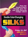 Double Color Changing Silks by Trickmaster