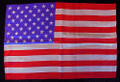 "Rice Silks 12"" x 18"" American Flag"