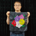 18 Inch Flower Silk by JL Magic