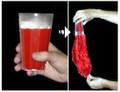 Drink to Silk Magic Trick