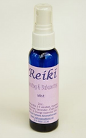 Designed to open the recipient and help the Reiki Master focus more deeply to create a more intense session. Contains Cypress, Frankincense, Lavender, Clary Sage, Cedar & Orange Essential Oils. 2oz