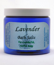 Natural Options Aromathearpy Lavender Bath Salt