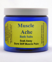 Natural Options Aromatherapy Muscle Ache Bath Salt