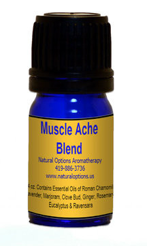 Natural Options Aromatherapy Muscle Ache Blend