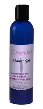 Natural Options Aromatherapy Lavendar Shower Gel