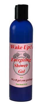 Natural Options Aromatherapy Wake Up Shower Gel