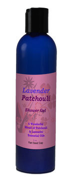Natural Options Aromatherapy Lavender and Patchouli Shower Gel