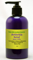 Natural Options Aromathearpy Organic Arhritis Cream