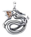 "DD2968 - 1.5"" Dragon Pendant"
