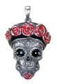 "DD2974 - 1.5"" Day of the Dead Frida Pendant"