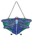 "YTC8511 - 4.25"" Tiffany Dragonfly Sun Catcher"