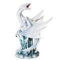 "PT10559 - 10.5"" White Dragon on Crystal"
