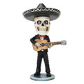 """PT10545 - 6.275"""" Day of the Dead Bobblehead Guitar Player"""