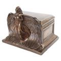 "PT10506 - 9.5"" Rising Angel Urn; Bronze-finish"