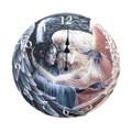 "PT10748 - 13.25"" diameter Day Surrendering Unto Night Clock"
