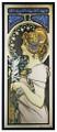 YTC8557 - Alphonse Mucha - Feather