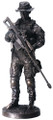 YTC8088 - Salute to the Armed Forces - Sniper (bronze-finish)