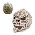 """PT10838 - 5.25"""" Aztec Skull"""