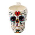 """PT11035 - 6"""" Day of the Dead Skull Mug"""