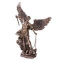 "PT11053 - 20.5"" St. Michael; Bronze-finished"