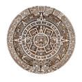 "PT11059 - .75"" Aztec Calendar Plaque"