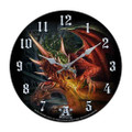 "PT11088 - 13.25"" Draco Basilica Clock, Alchemy Gothic"