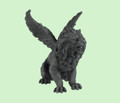 "PT06320 - 6.5"" Winged Lion Gargoyle"