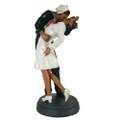 """PT11132 - 12"""" Navy Sailor and Nurse """"Unconditional Surrender"""" Plaque"""