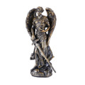 "PT11187 - 4.75"" Archangel Jehudiel; Bronze-finished"