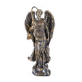 "PT11191 - 4.875""Archangel Raphael; Bronze-Finished"