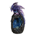 "PT11334 - 12"" Blue Dragon Backflow Incense Tower"
