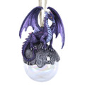 "PT11458 - 5"" Hoarfrost Dragon Ornament"