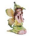 "PT11382 - 3"" Small Green Sitting Fairy"