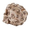 """PT11439 - 4.75"""" Crossbones Skull Money Bank"""