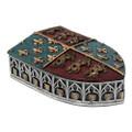 "PT11501 - 2"" Medieval Shield Trinket Box"