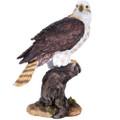 """PT11596 - 10"""" Eagle on Tree Limb; 10"""" high"""