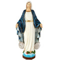 """PT11491 - 16"""" Virgin Mary with Miraculous Medal in Color"""