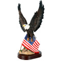 "PT11598 - 18"" Eagle with Flag"