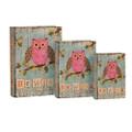 "PT11733 - 11.75"" Wise Book Box; Set 3"