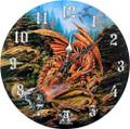 "PT11737 - 13.25"" Dragons of Runering Clock"