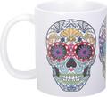 "YTC1624 - 3.75"" Day of the Dead Skull Heads Mug"
