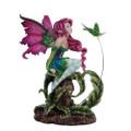 "PT11776 - 6.25"" Flirting Fairy and Hummingbird Fairy"
