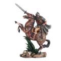 """PT11857 - 10"""" Viking Warrior on Horseback"""