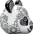 YTC8901 - Day of the Dead Panda Head